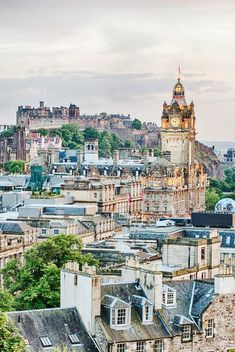Go Here, Not There: 10 Underrated European Cities via @mydomaine | Skip London, Visit Edinburgh