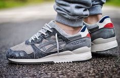 Invincible x Asics Gel Lyte 3 - theyareonlyshoes http://www.95gallery.com/