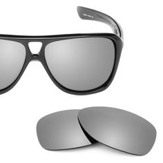2b2fc321b69 Revant Replacement Lenses for Oakley Dispatch 2 Polarized Titanium.  Titanium MirrorShield™ - Polarized.