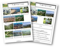 Les différents types de paysages France Geography, Kids Homework, Pokemon, Teaching French, Travel Around The World, Games For Kids, Social Studies, Kids Learning, Homeschool
