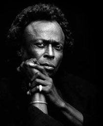 "Miles Davis. ""Don't play what's there, play what's not there."""
