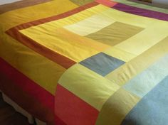 love the modern quilt design