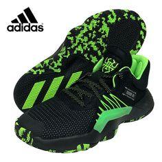 adidas D.O.N. Issue #1 Men's Basketball Shoes NBA Casual Black NWT EF2805 #adidas #BasketballShoes