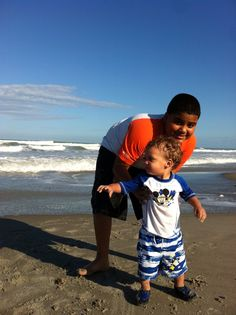 Jose Amir's first time at the Beach
