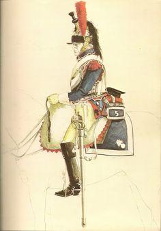 CORACERO EN 1807