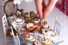 Miniatures, from Fantastic Creatures to Dollhouse Items. Caroline McFarlane-Watts Creations