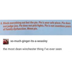 """The second I started reading it, I thought, """"Did Dean Winchester write this? Misha Collins, Jensen Ackles, Jared Padalecki, Supernatural Destiel, Supernatural Funny Tumblr, Super Natural, Dean Winchester, Superwholock, Best Shows Ever"""
