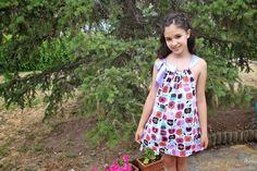 Cómo hacer un vestido para niña estilo pillowcase dress