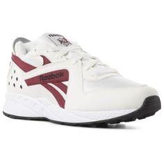 d5a4b283248 Reebok Shoes Unisex Pyro in Chalk Burgundy Black Size M 7.5   W 9 - Retro  Running Shoes