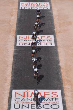 72nd Tour of Spain 2017 / Stage 1 Team Dimension Data / Igor ANTON / Nick DOUGALL / Youcef REGUIGUI / Omar FRAILE / Jacques JANSE VAN RENSBURG /...