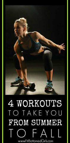 Are you up for a fun exercise challenge? Try these 4 workouts to increase your motivation and keep your workouts exciting!