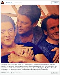 John Cho, Karl Urban, & Anton Yelchin - literally want to cry now after reading this. Star Trek Chekov, Star Trek Cast, New Star Trek, Star Wars, New Movies, Movies And Tv Shows, Star Trek Reboot, John Cho, Star Trek 2009