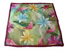 Silk Art, Silk Painting, Silk Scarves, Silk, Scarf Head, Paintings, Scarves