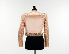 Evening jacket (image 3) | House of Schiaparelli | French | summer 1937 | silk, glass | Brooklyn Museum Costume Collection at The Metropolitan Museum of Art | Accession Number: 2009.300.2789