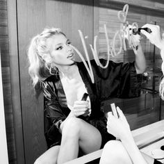 Stella Maxwell for The Coveteur Photographed by Jake Rosenberg
