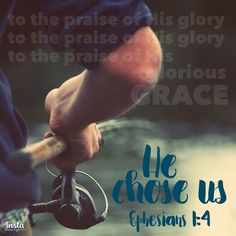"How does it feel to be chosen? ""...In love He predestined us...according to the purpose of His will..."" He's a good good Father!  to the praise of His glory to the praise of His glory to the praise of His glorious GRACE!"