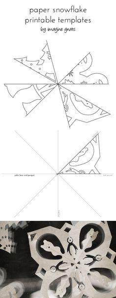 snowflake template vertical
