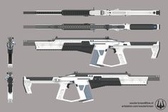 ArtStation - 승냥이 - Smart Combat Rifle, Wouter Kroon Future Weapons