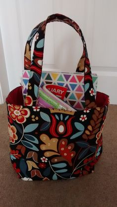 Ladies Tote Bag, Fabric Tote, Shopper, Handbag by BitsBobsBunting on Etsy