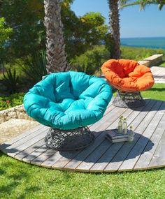 attraktiver hängesessel aus rattan - zum schaukeln und träumen, Garten und Bauen