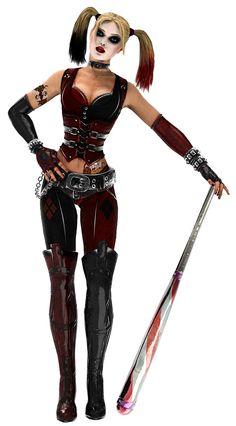 Harley Quinn - Batman: Arkham city