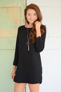 Angelina Dress - Black