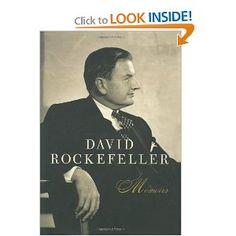 David Rockefeller Memoirs/ Banking and Finance