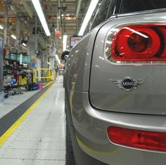 A backstage pass at the MINI Oxford Plant shows a #MINI #Clubman ready for the asphalt.