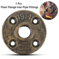 20mm Malleable Threaded Floor Flange Iron Pipe Fittings Wall Mounted Flange