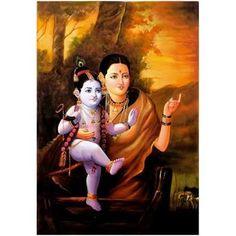 Baby Krishna, Krishna Radha, Lord Krishna, Durga, Mural Painting, Silk Painting, Bal Gopal, Blue Balloons, Indian Gods
