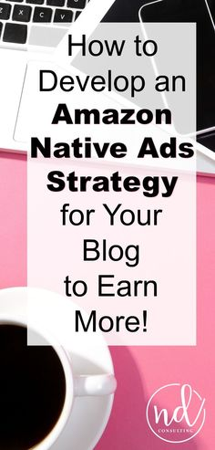 Develop an Amazon Native Ads strategy - it is a key to earning a blog income from the Amazon associates affiliate program.  http://ndcfullcircle.com/amazon-native-ads-strategy/?utm_campaign=coschedule&utm_source=pinterest&utm_medium=ND%20Consulting%20-%20Blog%20to%20Business&utm_content=How%20to%20Create%20an%20Amazon%20Native%20Ads%20Strategy%20for%20a%20Blog