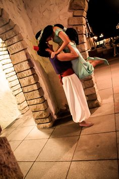 Disney - Aladdin & Jasmine cosplay