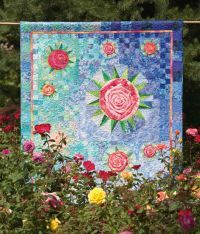 Dozen Roses, A - Beautiful Quilts and Pillows  By Catherine Comyns, Jennifer Rounds