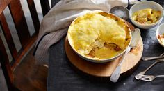 Potato and reblochon cheese gratin (tartiflette au reblochon) | Stage 19 - Bourg-D'Oisans/Le Grand-Bornand: This dish is from the Haute Savoie Alps region. This tasty gratin-style dish, often served in the alpine ski resorts, is a wonderful choice for a winter dinner and a popular party dish for young adults.