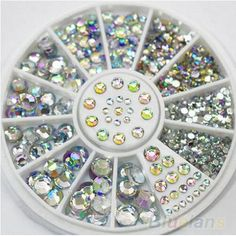 Item Type: Rhinestone & DecorationBrand Name: otherQuantity: 400Material: CrystalSize: 1.5-5mmWeight: 20 gModel Number: 1004is_customized: Yes