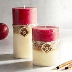 Island Orchard® Layered Pillar Candles | Pier 1 Imports