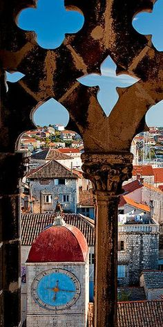 Trogir - Croatia. Our tips for 25 Places to See in Croatia: http://www.europealacarte.co.uk/blog/2012/01/05/what-to-do-in-croatia/
