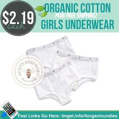 Great soft underwear that last many washes is worth the extra pennies lucky for us these are on sale at Nordstrom. Cloud' Hipster Briefs (Toddler Girls Little Girls & Big Girls) (3-Pack) Reg $10.95. Save 40% OFF. Now $6.57. Free Shipping. Making them $2.19 each!  http://tmget.info/4organicundies  follow the link in my Bio @Tomorrowsmom #tomorrowsmom #cosmicmothers #feminineenergy #loa #organic #fitmom #health101 #conscience #wakeupamerica #change #nongmo #organiclife #crunchymama #organicmom…