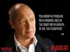 James Spader as Redington on The Blacklist - My favorite show!!