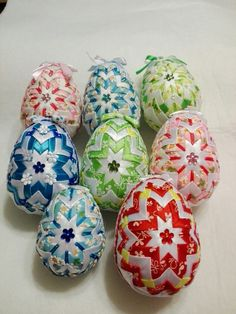 Fabric Christmas Ornaments, Quilted Ornaments, Christmas Bulbs, Styrofoam Crafts, Bow Hanger, Ribbon Art, Easter Wreaths, Easter Eggs, Diy Crafts