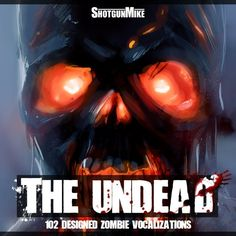 The Undead zombie sound effects library: http://www.asoundeffect.com/sound-library/the-undead/