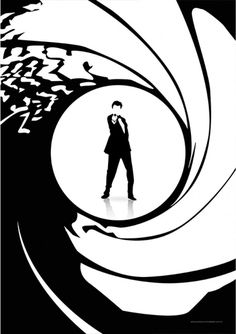 James Bond - Filmes | Posters Minimalistas