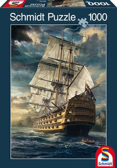 Sails Set 1000 Piece Puzzle