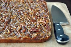 Pecan Pie Bars. A taste of the South.