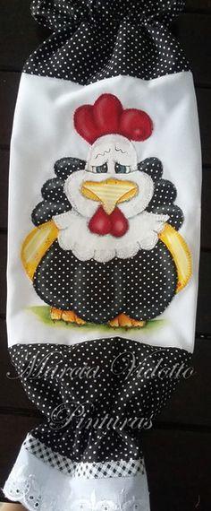 So cute, plastic bag Holder. Just inspiration Quilt Block Patterns, Applique Patterns, Applique Quilts, Applique Designs, Embroidery Designs, Sewing Patterns, Yarn Crafts, Sewing Crafts, Sewing Projects