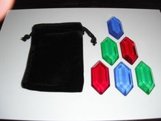 Legend of Zelda 6 Rupee Set - Adult's Wallet. $24.99, via Etsy.