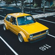 Volkswagen Golf Mk1 GTi widebody