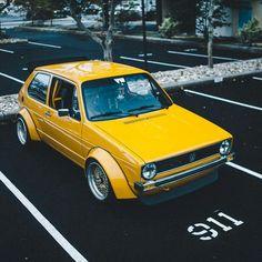 Volkswagen Golf Mk1 GTi widebody