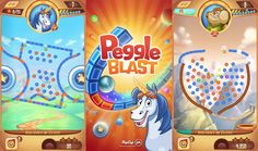 Take your best shot with a blend of luck, skill, and joyous thrills in Peggle Blast! App Of The Day, Ipad, Iphone, Ipod Touch, Android, Free, Step By Step, Games
