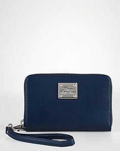 Lauren Ralph Lauren iPhone Wristlet - Newbury Leather Handbags -  Bloomingdale s ac63dc210b